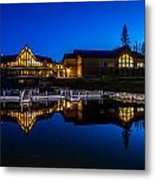Candle Lake Golf Resort Metal Print by Gerald Murray Photography