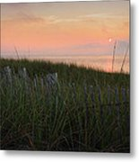Cape Cod Bay Sunset Metal Print