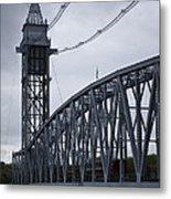 Cape Cod Railroad Bridge No. 2 Metal Print by David Gordon