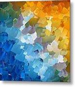 Capixart Abstract 110 Metal Print