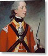 Captain Thomas Hewitt, 10th Regiment Metal Print by William Tate