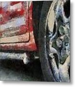 Car Rims 02 Photo Art 03 Metal Print