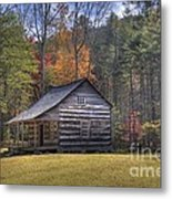 Carter-shields Cabin Metal Print by Crystal Nederman