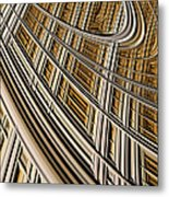 Celestial Harp Metal Print by John Edwards