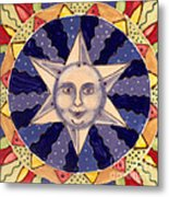 Ceramic Star Metal Print by Anna Skaradzinska