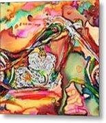 Chameleon Lowrider Metal Print