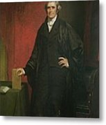 Chief Justice Marshall Metal Print by Chester Harding