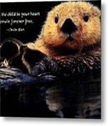 Child In Your Heart Metal Print
