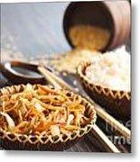Chinese Food Metal Print