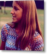 Chris Evert Metal Print