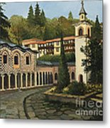 Church In Blagoevgrad Metal Print by Kiril Stanchev
