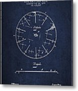 Circular Saw Patent Drawing From 1899 Metal Print