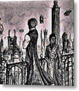 City Of Babel  Metal Print