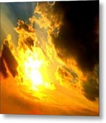 Clear Sky Metal Print by Jose Lopez