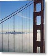 Cloud City Metal Print by Darren Patterson