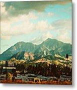 Cloudy Day On Mt Diablo In San Francisco Bay Area Metal Print by Dorothy Walker