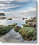 Coastal Colors Metal Print by Jon Glaser