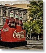 Coca-cola Metal Print by Wayne Gill