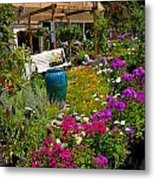 Colorful Greenhouse Metal Print by Amy Cicconi