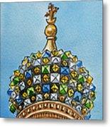 Colors Of Russia St Petersburg Cathedral IIi Metal Print by Irina Sztukowski