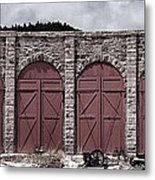 Como Roundhouse Metal Print by Ken Smith