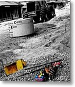 Construction Site Metal Print by   Joe Beasley
