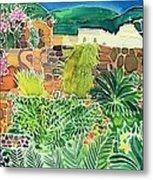 Convent Gardens Antigua Metal Print