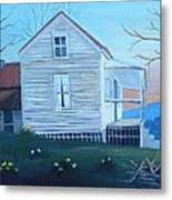 Country Living Metal Print by Glenda Barrett
