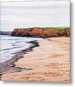 Cousins Shore Prince Edward Island Metal Print by Edward Fielding