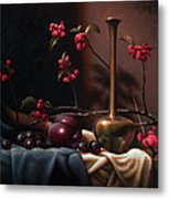 Crabapple Blossoms Metal Print by Timothy Jones