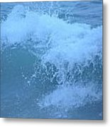 Crashing Wave Metal Print by Kiros Berhane