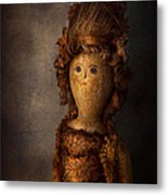 Creepy - Doll - Matilda Metal Print by Mike Savad