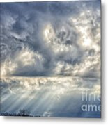 Crepuscular Rays Metal Print by Thomas R Fletcher