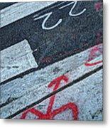 Crosswalk Metal Print by Jim Wright