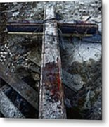Crucifixion Metal Print by Margie Hurwich