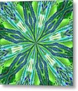 Crystal Ocean Metal Print by Donna Blackhall