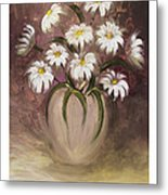 Daisy Delight Metal Print by Nancy Edwards