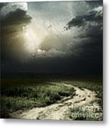 Dark Storm Cloud Metal Print
