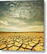 Dead Valley Metal Print by Boon Mee