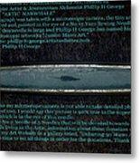 Debuting Arctic Polar Bear Sewing Needle No.2  Metal Print by Phillip H George