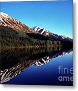 Deep Blue Lake Alaska Metal Print