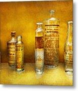Doctor - Oil Essences Metal Print