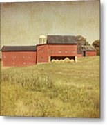 Down On The Farm Metal Print by Kim Hojnacki