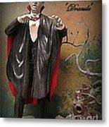 Dracula Model Kit Metal Print