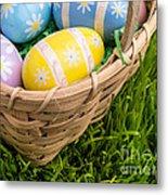Easter Basket Metal Print by Edward Fielding