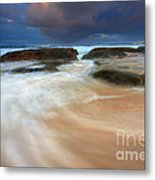 Ebb Tide Sunrise Metal Print