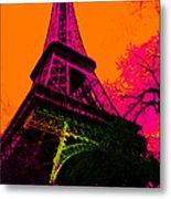 Eiffel 20130115v1 Metal Print