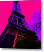 Eiffel 20130115v3 Metal Print