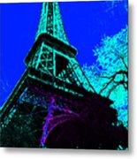 Eiffel 20130115v4 Metal Print