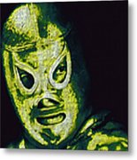 El Santo The Masked Wrestler 20130218p39 Metal Print